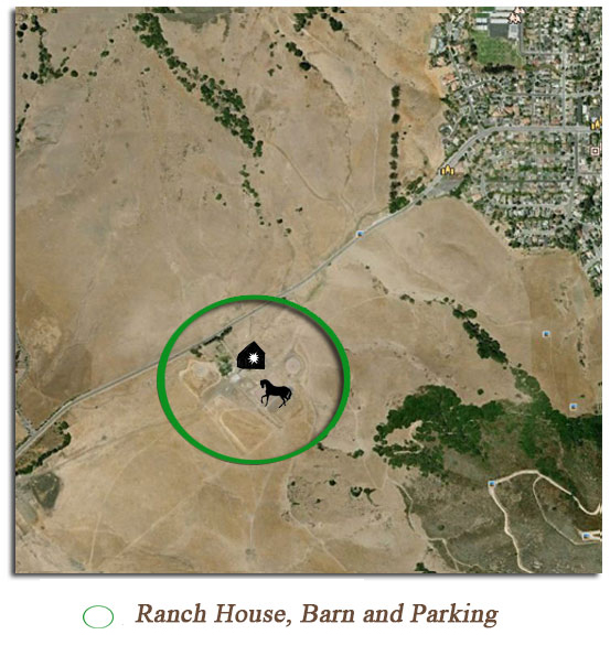 Map to Madonna Ranch